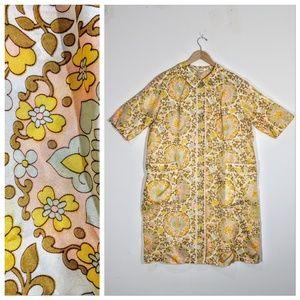 Dresses & Skirts - 1970s Evelyn Pearson Silk Coat Dress